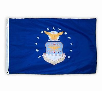 US AIR FORCE USAF Official Military Flag 3x5 ft Outdoor Nylon MADE IN USA