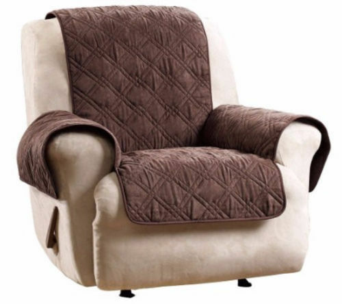 SlimpleStudio Muebles Plazas Funda para Sofa de Esquina,Cubierta de Muebles de Exterior 210D Cubierta de Polvo de Muebles de Tela Oxford recubierta de Plata-Los 80x80x80cm