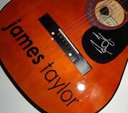 James Taylor Signed Guitar