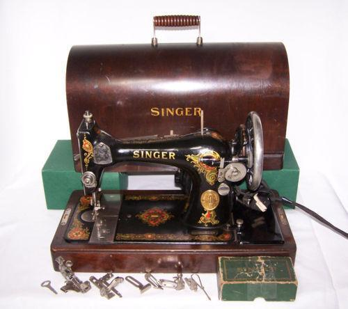 Antique sewing machine ebay sciox Choice Image