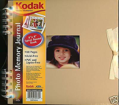 Memory Album Scrapbooking (8x8 SCRAPBOOKING Album Kodak Photo Memory Journal NEW)