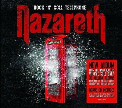 Nazareth - Rock N Roll Telephone: Deluxe Edition [New CD] UK - Import Rock N Roll Telephone