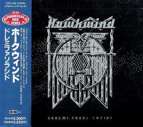 Hawkwind • Doremi • Japan CD • Orig 1st ISSUE + Obi + booklet + Silver Machine •