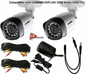 Lorex 720P 1MP up to 130Ft NV IP66 4PK Bullet Camera LBV1521