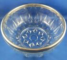 Art Deco Clear Glass Bowl