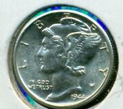 Mercury Dime Roll BU