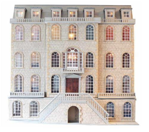 Victorian Basement: Dolls House Mansion