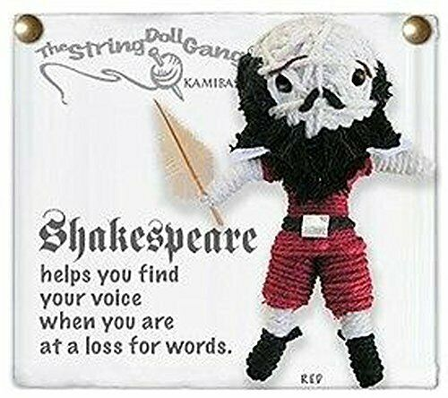 Kamibashi Shakespeare Original String Doll Gang Keychain Toy