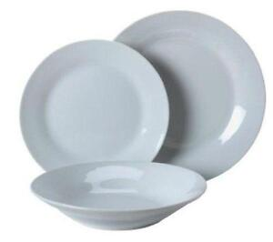 White Dinner Set eBay