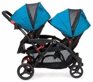 Double Stroller/ Pram (Contours Options Elite Tandem) -Brand New Randwick Eastern Suburbs Preview