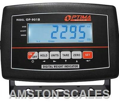 Lcd Digital Display Head Monitor Load Cell Truck Floor Scale Animal Rechargeable