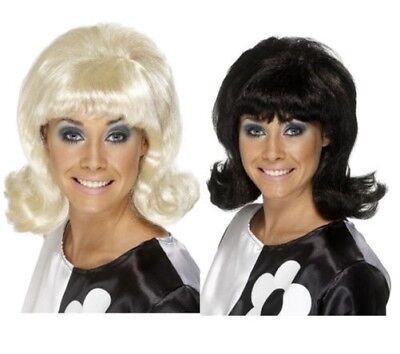 Haarspray Flick-Up Perücken Damen Kostüm 1960s 60s Erwachsene Kostüm - Haarspray Perücken Kostüm