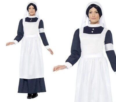 Krankenschwester Kostüm 1. Weltkrieg 2 40er Jahre Florence Nightingale - 40er Jahre Kleid Kostüm