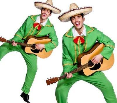 Erwachsene Mexikanisch Maraiachi Kostüm Herren Musikalisch - Musikalische Kostüm
