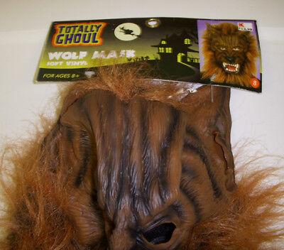 Werewolf Wolf Brown Monster Wig Mask - Wolf Wig