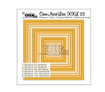 Crealies Crea-nest-dies XXL no. 22 Stanz Stitch 340022