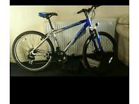 Blue apollo mountain bike