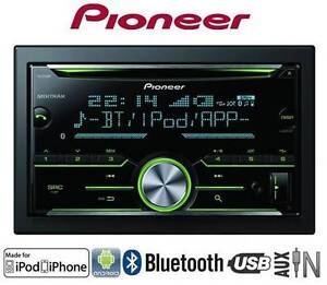 PIONEER DOUBLE DIN CD BLUETOOTH USB AUX MP3 PLAYER 1YEAR WARRANTY Glen Waverley Monash Area Preview