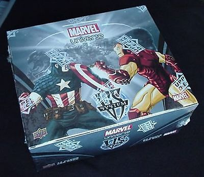 VS TCG FACTORY SEALED BOOSTER BOX Marvel Universe 24ct