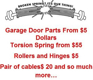 Garage Doors Parts For You! Why pay More?