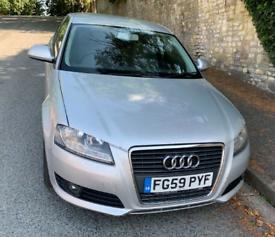 Audi, A3 1.9 TDi SE, 2009, Manual NEW 12 M MOT NEW CAMBELT £1750