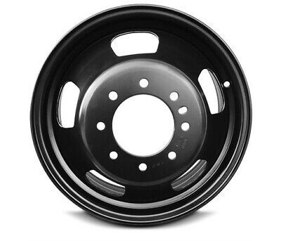 """17"""" Black Replacement Wheel Fits 03-18 Dodge Ram 3500 Dually 17x6 8x6.5 +136mm"""