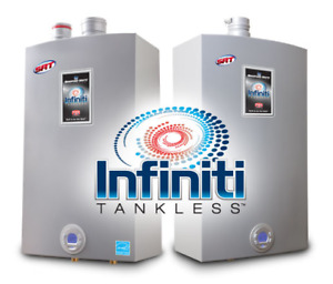 Brand new Bradford White natural gas tankless water heater