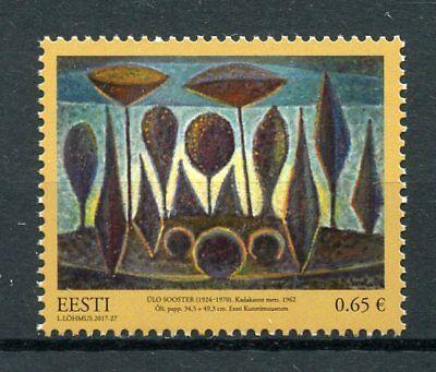Estonia 2017 MNH Treasury Estonian Art Museum Ulo Sooster 1v Set Stamps