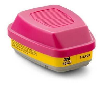 3M 60923 Acid Gas/Organic Vapor - 1 Pair - Better than 60921 - SHIPS FROM USA
