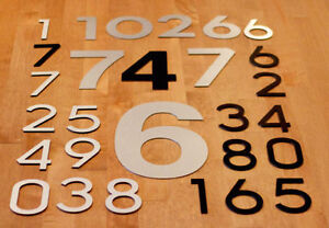 LARGE MODERN METAL HOUSE NUMBERS by HOUSE NUMBER KING Stratford Kitchener Area image 5