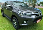 2015 Toyota Hilux GUN126R SR5 Double Cab Grey 6 Speed Automatic Utility Berrimah Darwin City Preview