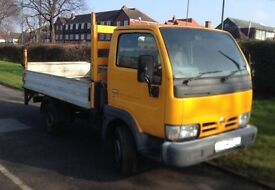 NISSAN CABSTAR PICK-UP VAN - 2006 / 56 REG - WITH WORKING TAIL LIFT & TOW BAR