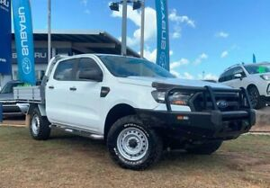 2016 Ford Ranger PX MkII XL Double Cab White 6 Speed Manual Cab Chassis Berrimah Darwin City Preview