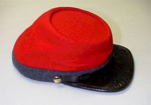 C.S. ARTILLERY KEPI. Size 7. Never Worn. Maker Unknown. PRICE REDUCED!