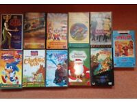 Walt Disney and Other films - VHS Tapes