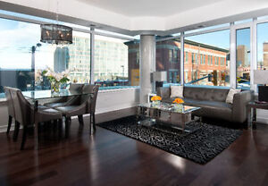 Beautiful 2 Bedroom Condo with Parking in Heart of DWNTN