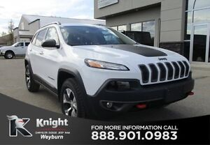 2016 Jeep Cherokee Trailhawk Heated Leather Sunroof Back-Up Cam