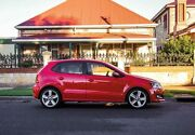 2013 Volkswagen Polo 6R MY13.5 77TSI DSG Comfortline Red 7 Speed Sports Automatic Dual Clutch West Hindmarsh Charles Sturt Area Preview