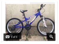 Boys carerra blast mountain bike