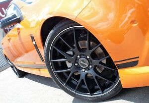 2013 Holden Commodore VF MY14 SV6 Orange 6 Speed Sports Automatic Sedan Caboolture Caboolture Area Preview