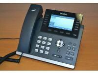 Eleven Yealink Gigabit SIP Phones - T46G excellent central London bargain