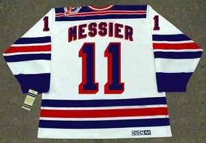 Mark Messier New York Rangers Vintage CCM 1994 Home Jersey XL St