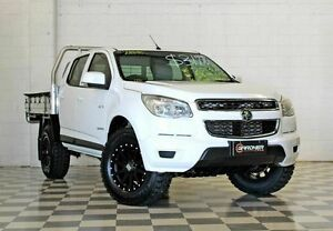 2013 Holden Colorado RG LX (4x2) White 6 Speed Automatic Crewcab Burleigh Heads Gold Coast South Preview