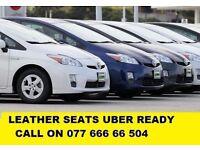 Pco cars hire rent Toyota Prius low mileage clean cars
