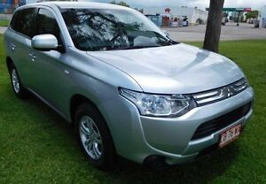 2013 Mitsubishi Outlander ZJ MY13 LS 2WD Silver 6 Speed Constant Variable Wagon Hidden Valley Darwin City Preview
