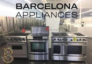 WHITE OR STAINLESS STOVES STARTING AT ONLY $399