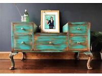 Upcycled Chest of Drawers / Sideboard