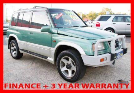 1998 Suzuki Vitara V6 (4x4) Green 5 Speed Manual 4x4 Wagon Underwood Logan Area Preview