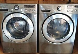 LG Steam Washer & Steam Dryer Set WITH Pedestals