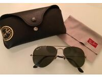 Almost brand new vintage Rayban Aviator sunglasses for sale